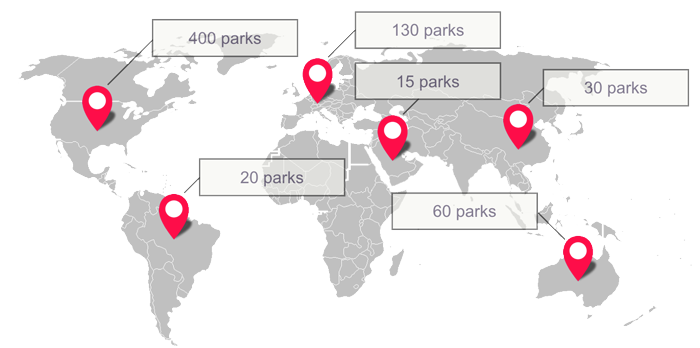 Adrenaline Parks Worldwide - 2016