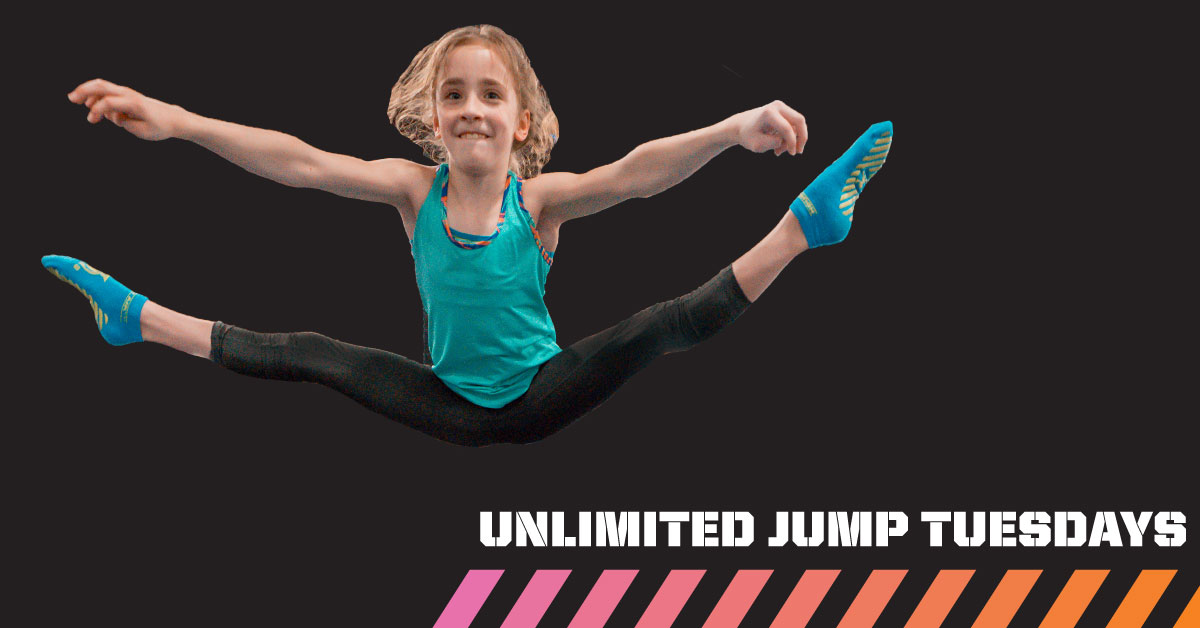 Unlimited Jump Tuesdays at House Of Air Crowley