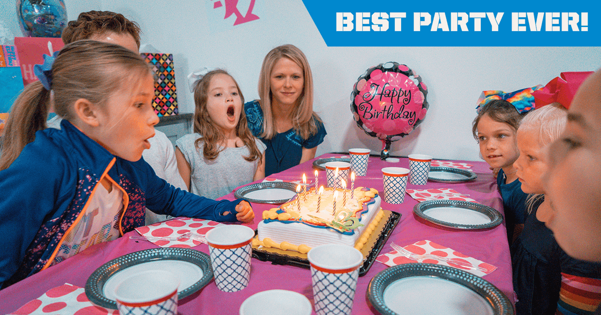 Kids birthday party places in Crowley, Texas