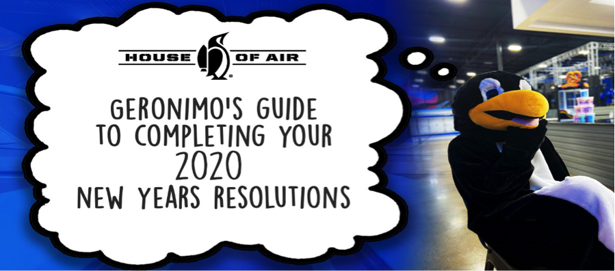 Geronimo's Guide to Completing your 2020 New Year's Resolutions