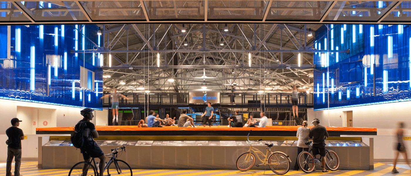 House of Air Trampoline Park - San Francisco, CA