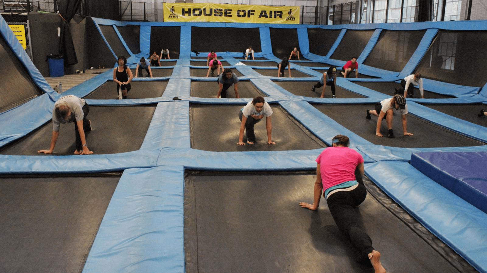 Trampoline Workout Class