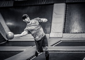 Trampoline Dodgeball Leagues