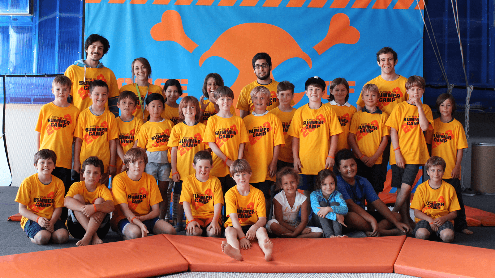 Spring Break and Summer Camps at House of Air - Bay Area Camps